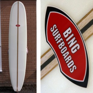 SOLD 9'6 Bing Noserider LW (volan edition) SOLD