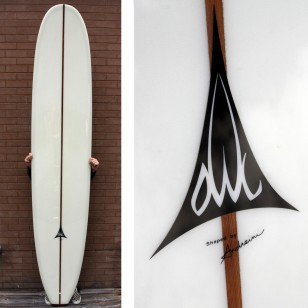 SOLD 9'8 Andreini Owl Noserider . SOLD
